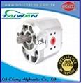 double gear pump tandem gear pumps