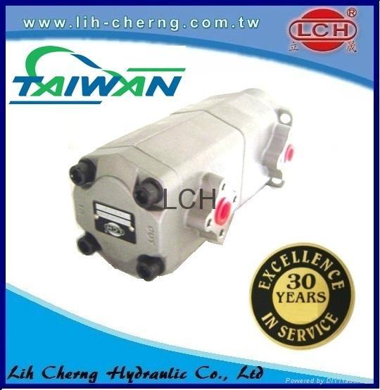 double gear pump tandem gear pumps Hydraulic gear pump 5