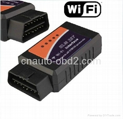 WIFI ELM327 OBD2 scanner support Apple iPhone Ipad PC