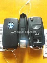 car alarm remote key (VW 3 button style) 433.92mhz remote control duplicator