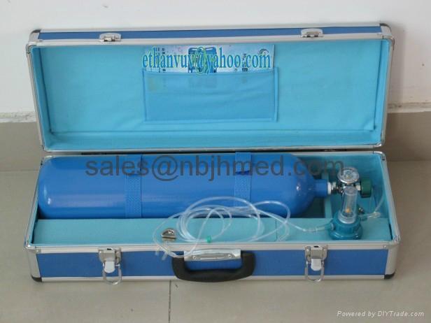 (Box-type) Aluminum Oxygen Cylinder Kit 3
