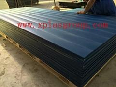 深蓝色超高分子聚乙烯板