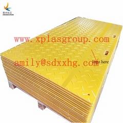 供应新兴临时铺路板,临时地面保护垫,HDPE铺路板