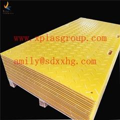 Plastic HDPE track mats/access mat/road plate