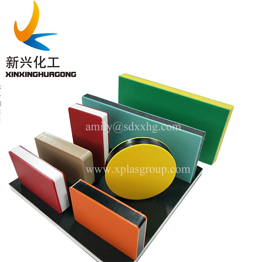 高密度聚乙烯單色板雙色板 HDPE三層板,HDPE雙色板 5