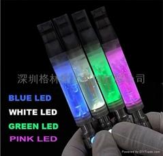 3.5ML透明霧化器帶LED燈