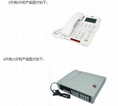 企業套裝集團電話交換機