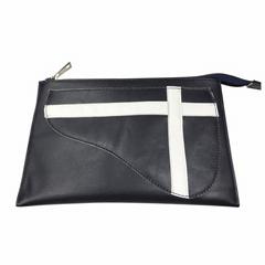 Sheepskin Folder,Leather handbag,Men's leather bag