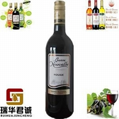 伯尼努瓦勒梅洛無醇干紅葡萄酒