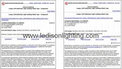 SAA CE UL Approved GU10 7W LED Lamp Spotlight 450-500LM 3 Years Warranty