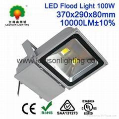 Shenzhen Factory 100W LED Flood Bulb Light Meanwell Driver+Bridgelux LED Chip