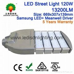 Philips LED Chipset Meanwell Driver LED Road Light Modular Street Light 120W