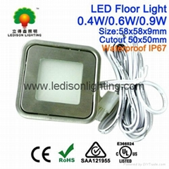 Stainless Steel 0.5W LED Light for Floor/Stair/Deck Mounted