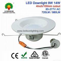 US Standard 4inch LED Downlight 9W 14W