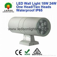 Courtyard LED Lighting Night Light 18W 24W Waterproof IP65