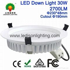 Samsung SMD LED Down Light 8inch Cutout