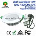 Ip44 IP54 Waterproof LED Downlight 13W