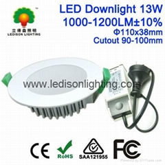 3.5inch Flat Face LED Downlight 13W