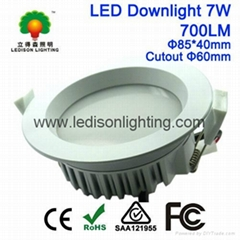60mm 70mm Cutout White Fitting 2.5inch