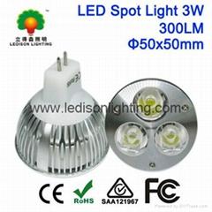 MR16 300LM 3w LED Spot light bulbs with CE SAA UL Approval