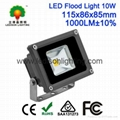 CE SAA Approved LED Floodlight Bulb 10W-240W Waterproof IP65 Black/Gray Casing