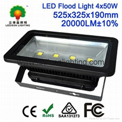 CE SAA Approved Square LED Light 240W Floodlight 85-265V with Meanwell Driver