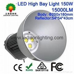 Bridgelux COB LED Meanwell Driver 150W LED High Bay Bulb Light CE SAA Approved