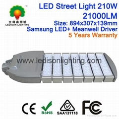 New 200W Street Bulb Light Separate Cooling System Philip LED