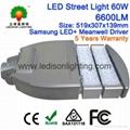LED Street Light 60W Samsung LED
