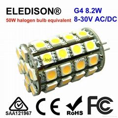12V AC 24V DC 8.2W LED G4 Bulb Light Warm White Cool White