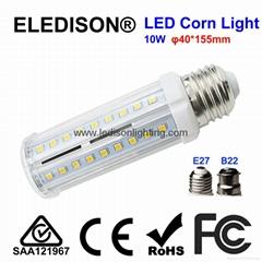 10W LED Corn Light Bulb 700LM E27 B22 Base PL Down Light Bulb Ceiling Light