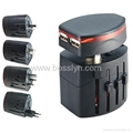 universal travel adapter ,travel adapter