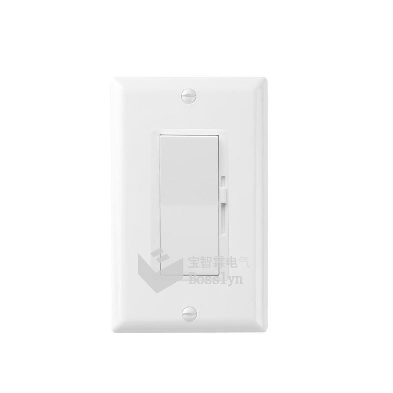 UL認証美標雙控LED燈調光器 開關 1