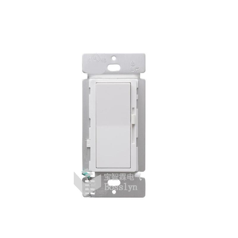 UL認証美標雙控LED燈調光器 開關 2