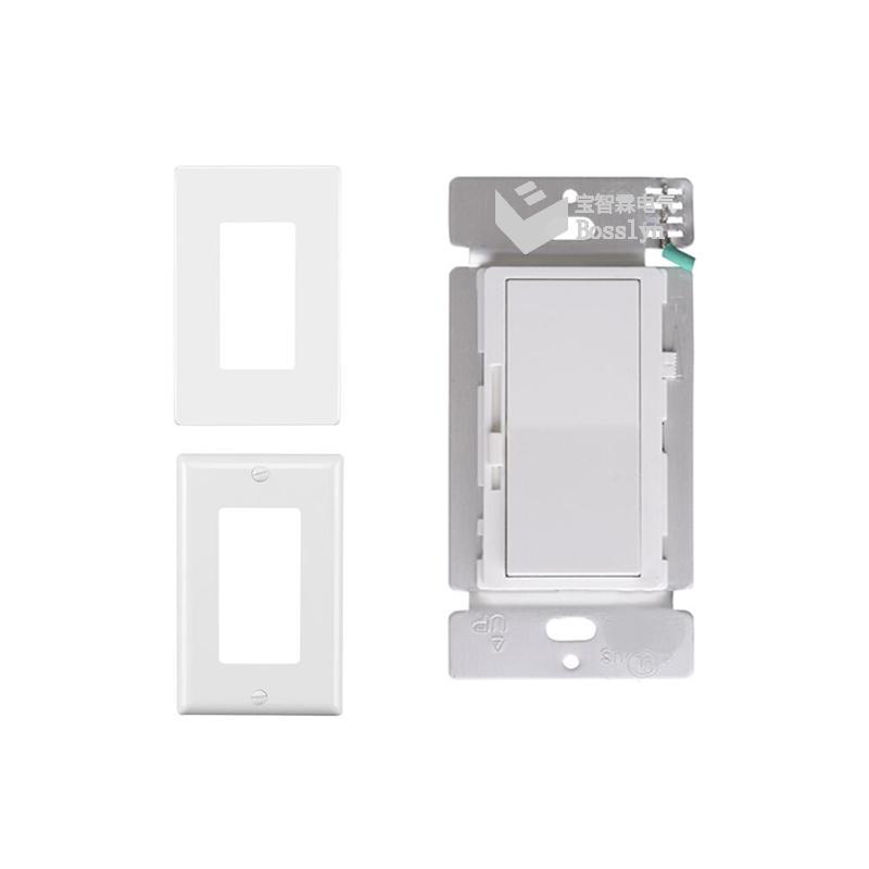 UL認証美標雙控LED燈調光器 開關 3