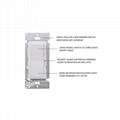 UL認証美標雙控LED燈調光器 開關 4