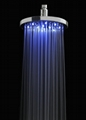 No Battery LED Rainfall shower LED