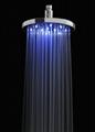 No Battery LED Rainfall shower LED shower head Light Shower LED 1