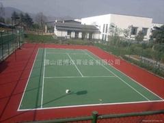 阳江运动球场涂料工程