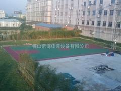 湛江运动球场涂料工程