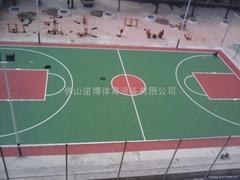 中山运动球场涂料