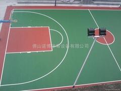 禅城运动球场涂料工程