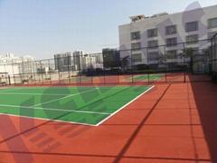 肇庆塑胶球场 肇庆丙烯酸球场彩色球场改造