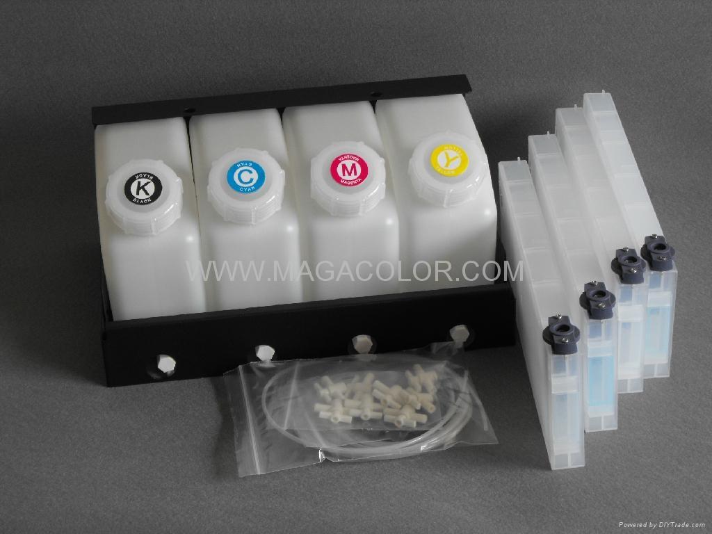 Bulk ink system for Mimaki JV3 ( Refillable cartridge ) 1