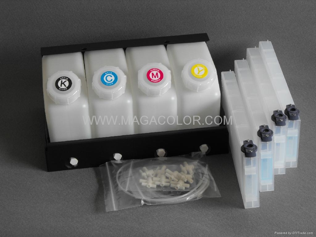 Bulk ink system for Roland XC540  ( Refillable cartridge ) 1