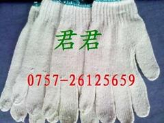 針織棉紗手套