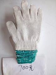 再生本白棉紗手套