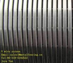 Stainless steel Johnson screen