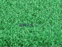 人造绿化果岭草皮