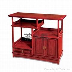 实木家具茶水柜